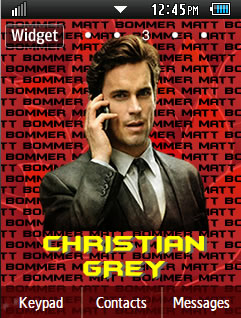 General Latest Christian Grey - Matt Bomer Samsung Corby 2 Theme Wallpaper