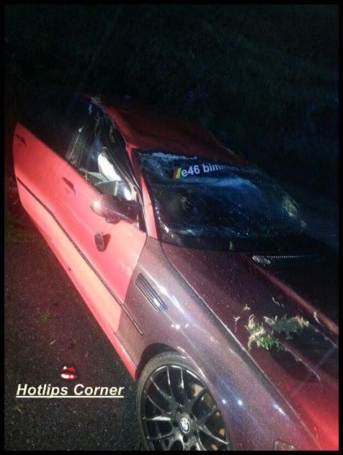 4 Gambar, Black Mentor Kemalangan, Kereta Total Lost