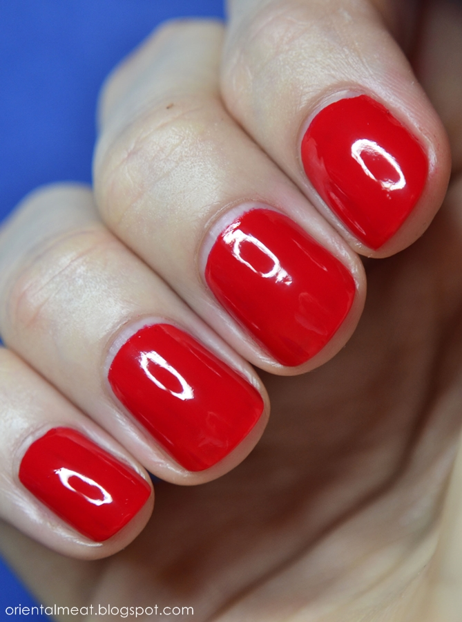 OPI-Coca Cola Red & My Signature is ''DC''