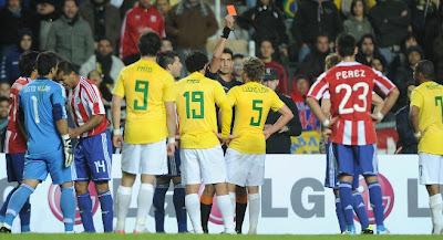 keputusan terkini brazil vs paraguay suku akhir copa america 2011,brazil vs paraguay 18 julai 2011,jadual separuh akhir copa america 2011,highlights perlawanan brazil vs paraguay copa america