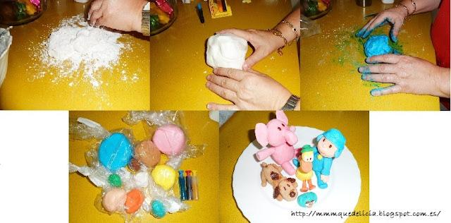 Muñecos De Pasta De Azúcar