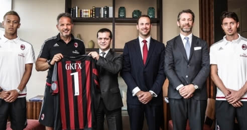 Otra empresa de trading, nuevo sponsor del Milan