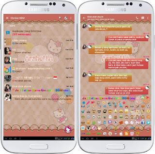 BBM Hello Kitty Versi 2.11.0.18 Apk