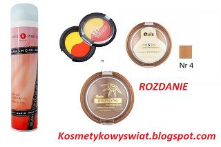 Konkurs kosmetyki na kosmetykowyswiat.blogspot.com