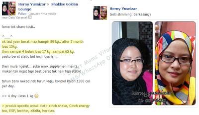 Testimoni : Hilang Berat 17kg 4 Bulan Badan Semakin Slim