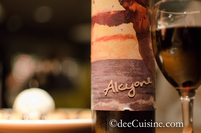 End dinner with Alcyone Tannat Dessert Wine