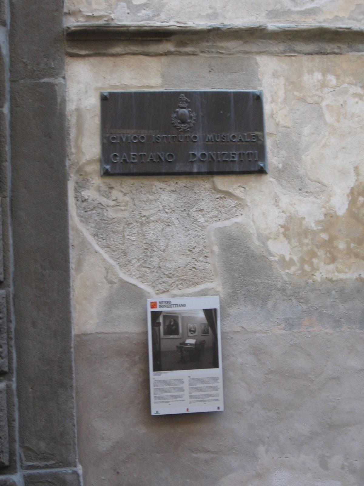 Donizetti Museum, Bergamo