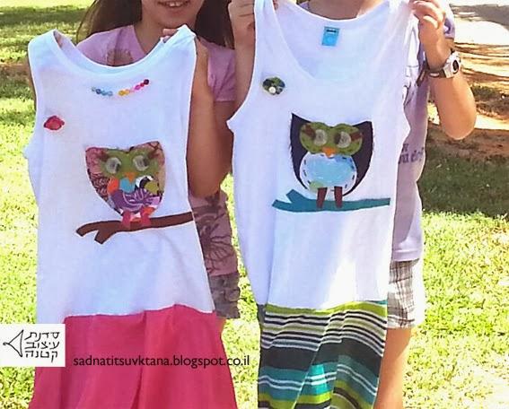 סדנאות עיצוב אופנה לילדות
