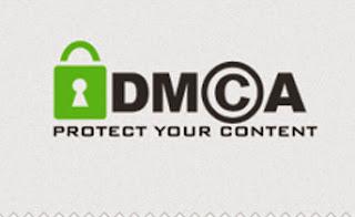 DMCA melindungi konten blog dari copas