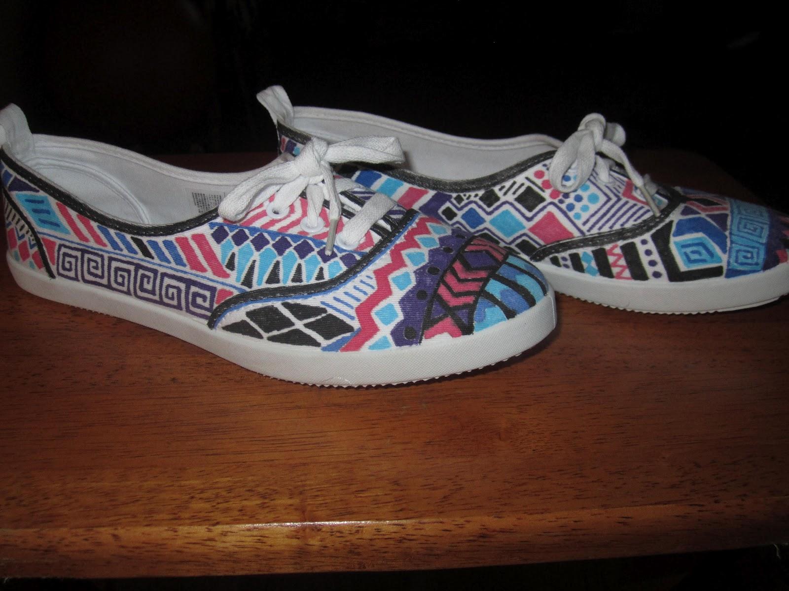 The polished designer diy tribal shoes for Diy shoes design