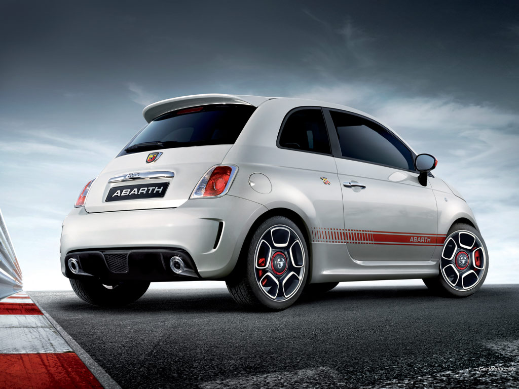 auto cars wallpapers fiat 500 abarth wallpaper. Black Bedroom Furniture Sets. Home Design Ideas