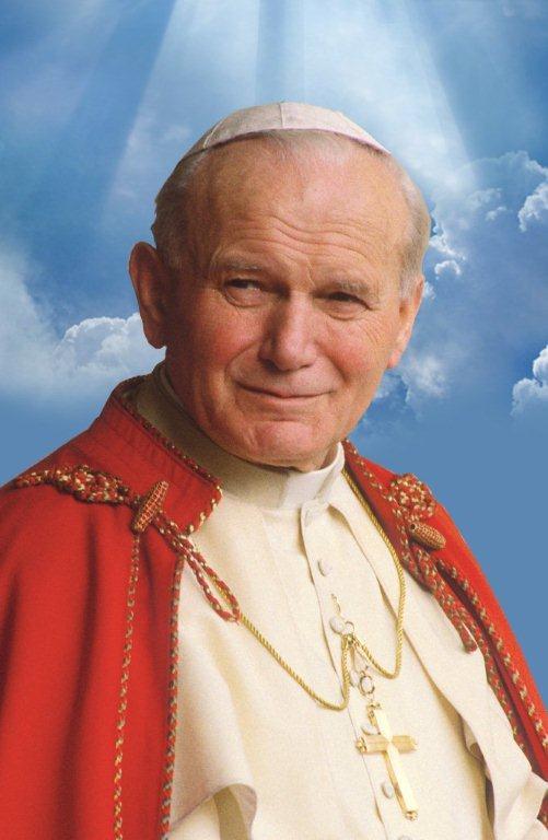 Błogosławiony Jan Paweł II.