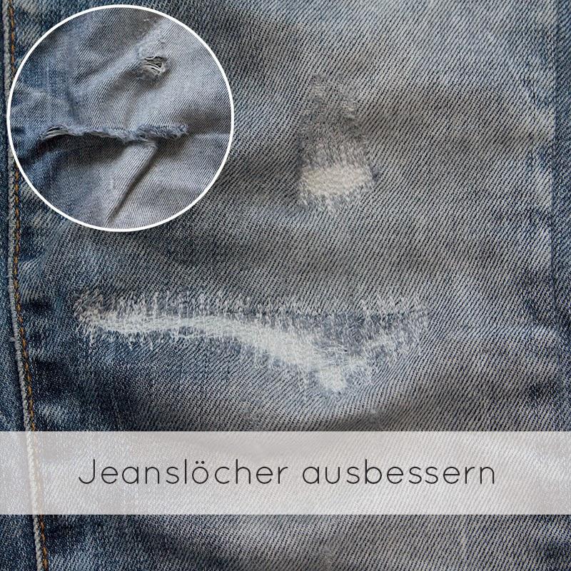 jeansl cher ausbessern von mri. Black Bedroom Furniture Sets. Home Design Ideas