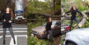 Sebastiana (Nana Gouveia) declarou que curte furacões, logicamente quando .