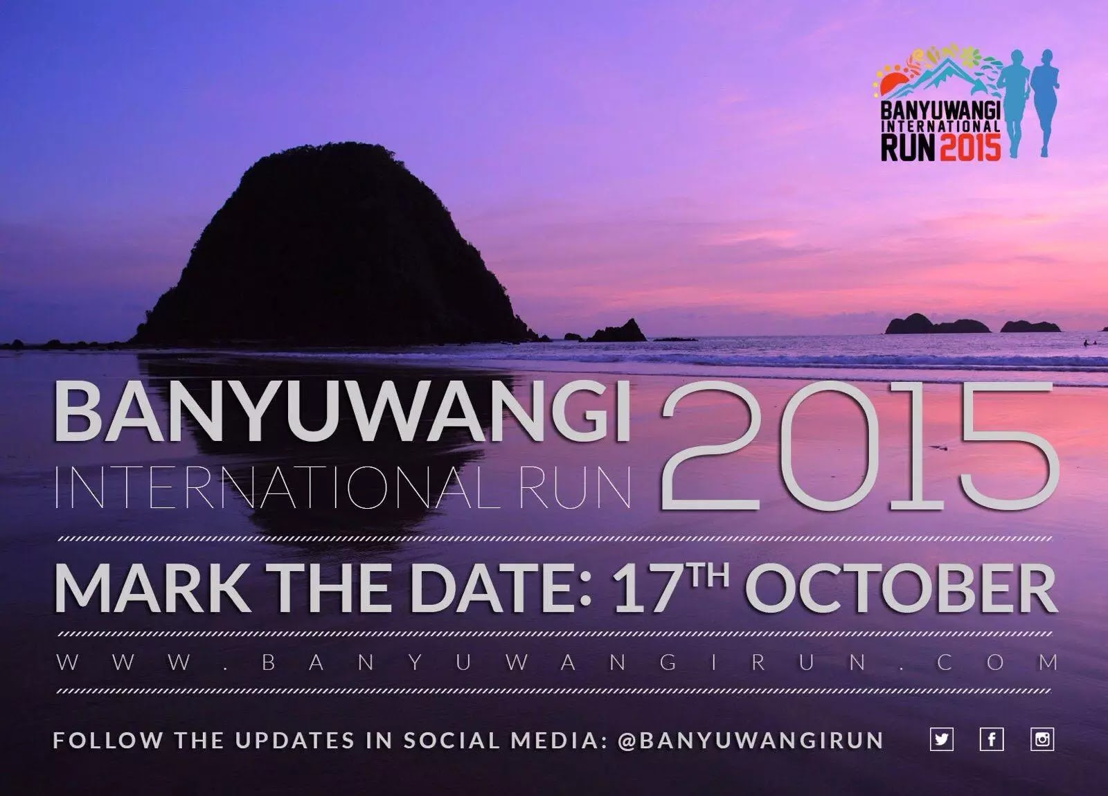 BANYUWANGI INTERNATIONAL RUN 2015