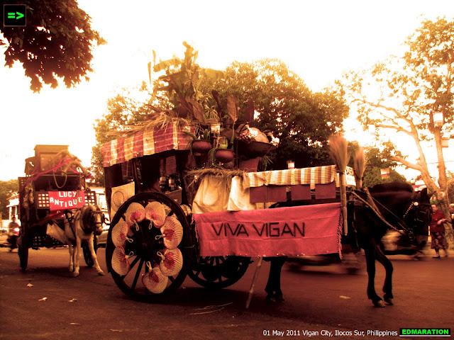 Vigan City | Viva Vigan Festival's Calesa Parade
