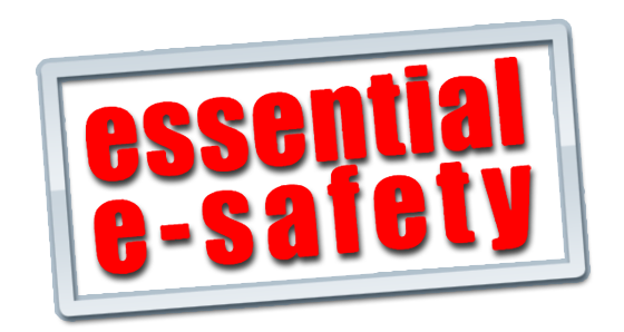 Image result for online e safety logo text