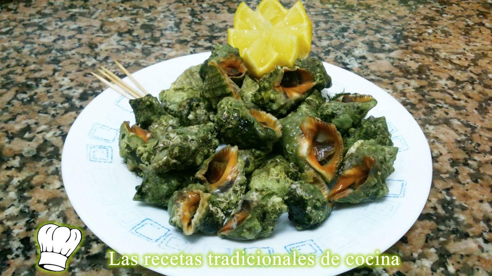 receta de caracoles de mar recetas de cocina con sabor