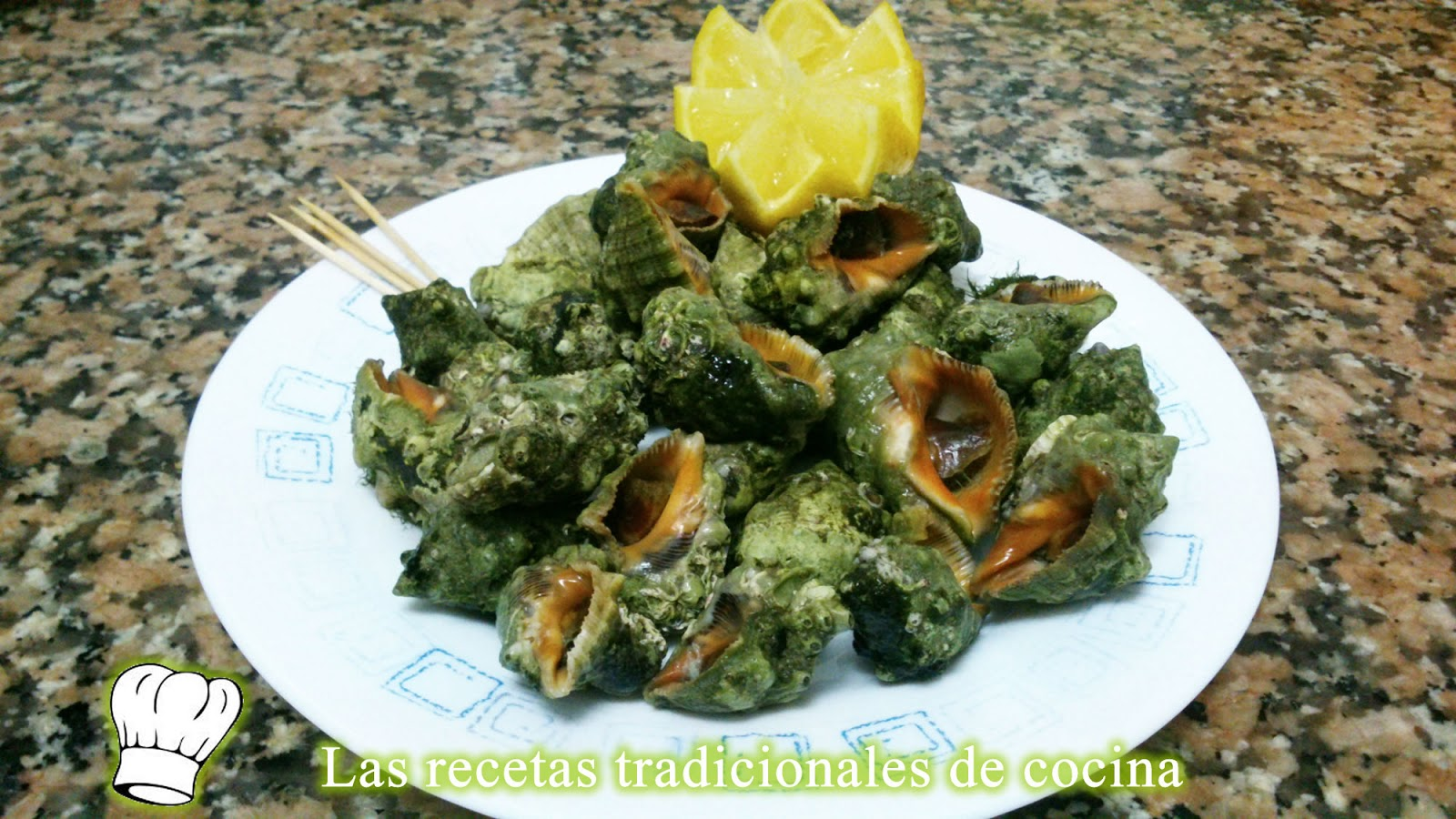 Como Cocinar Caracoles | Receta De Caracoles De Mar Recetas De Cocina Con Sabor Tradicional