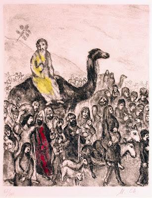 יעקב יורד למצרים - מרק שאגל