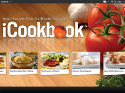 iCookbook Tablet App for HP TouchPad