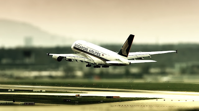 Airbus 380 Singapore Airlines