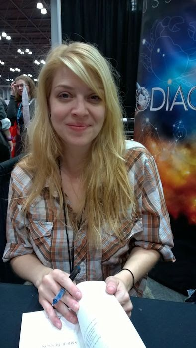 The qwillery new york comic con 2014 thoughts and for Emily addison nyc