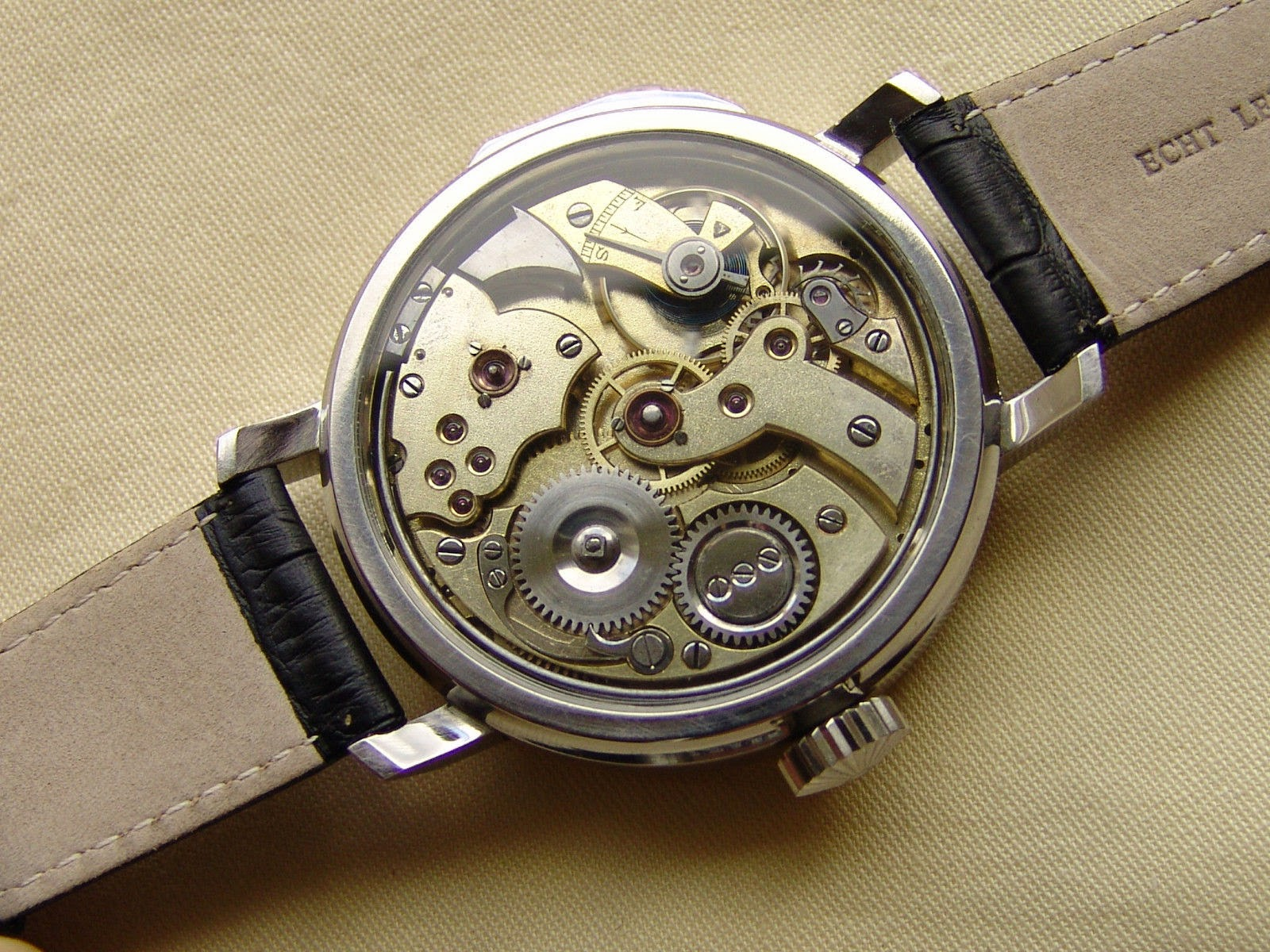 antique watches unique 50mm minute repeater by hahn