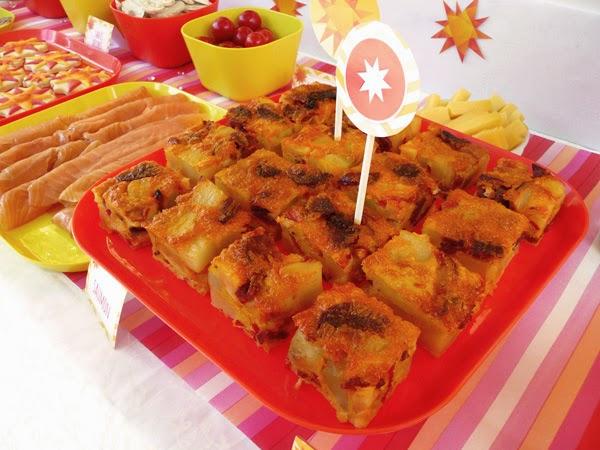 Tortilla chorizo / patates