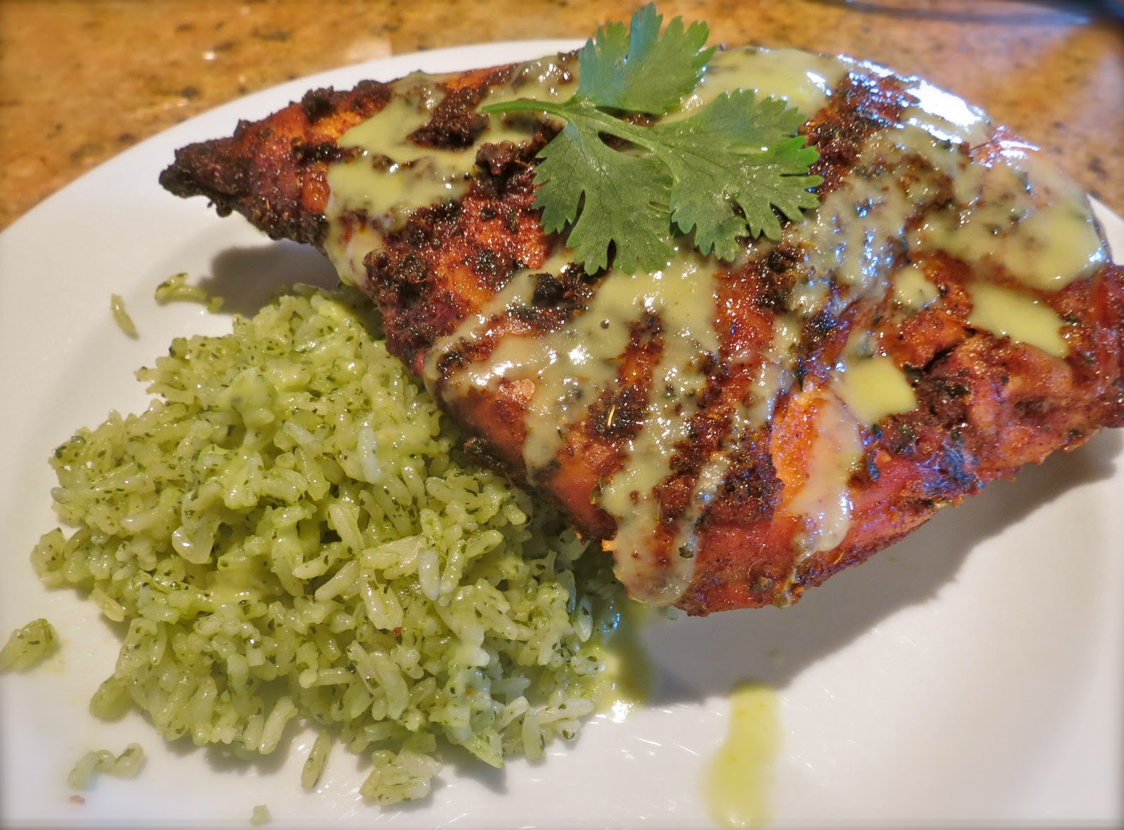 The Bee Cave Kitchen   Achiote Grilled Chicken with Poblano