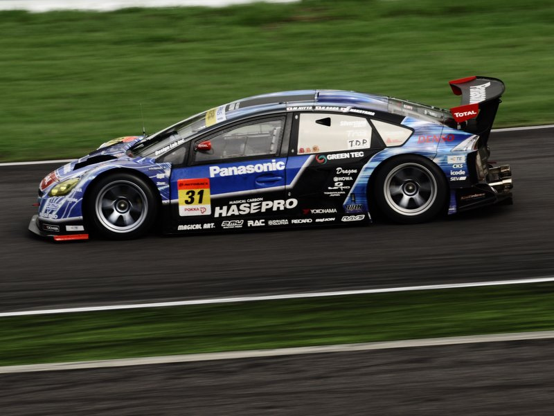 Super GT, japońska liga wyścigowa, seria, JDM, japanese, racing, Autobacs, Toyota Prius