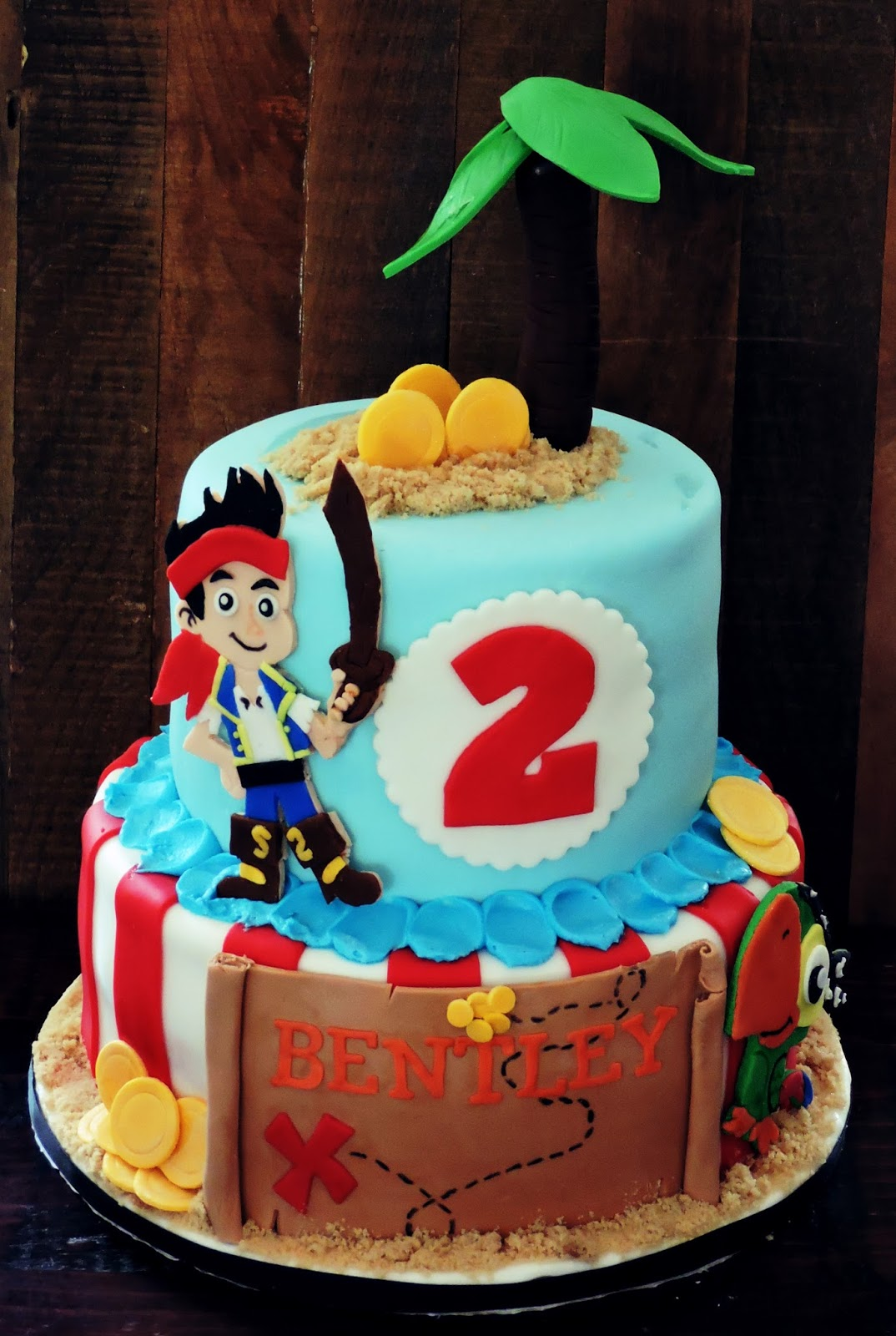 Pirate cake - photo#27