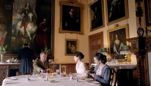 houses and styling i love: downton abbey