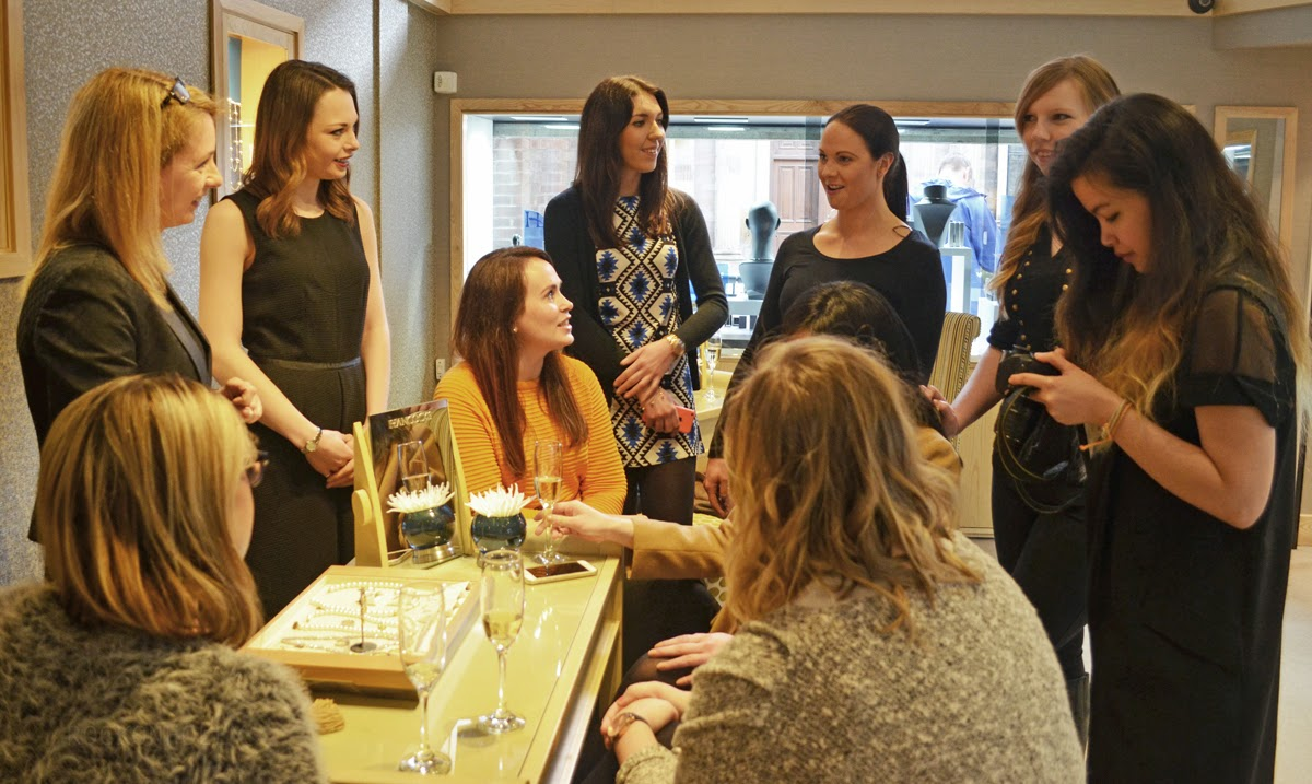 Bloggers at Hancocks Jewellers