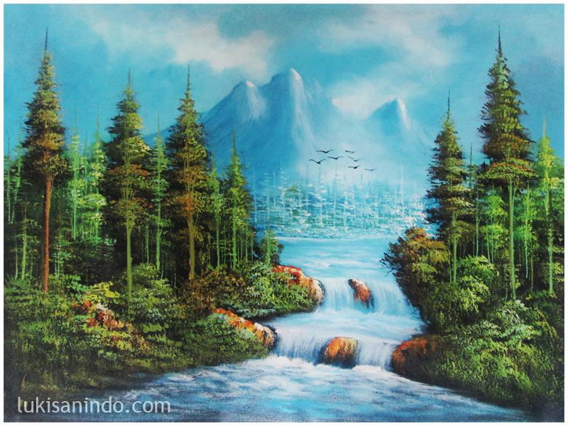 jual lukisan panen raya galeri gambar panen