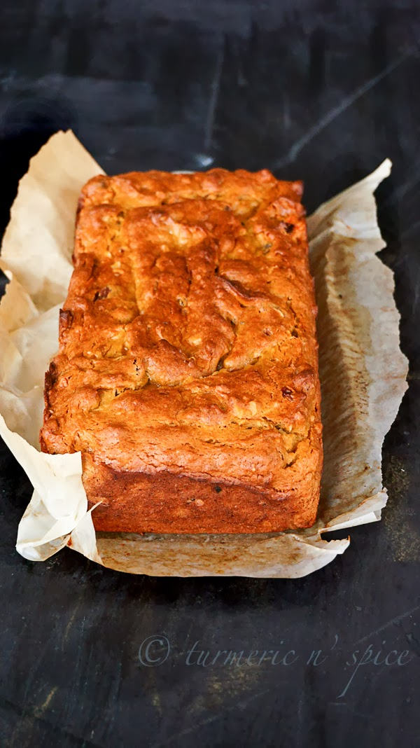 #James Beard's Persimmon Bread #Persimmon bread #MoistFruitBRead