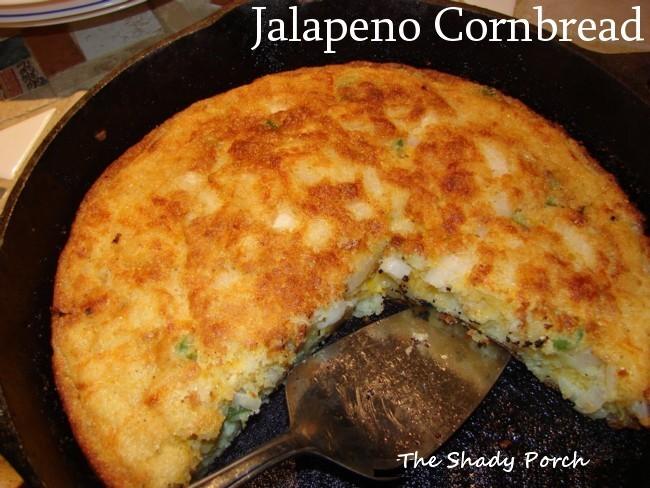 Jalapeno Cornbread bread spicy sidedish jalapeno recipe