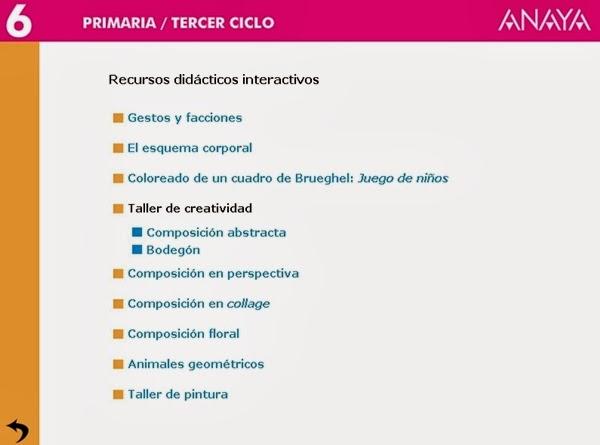 http://centros.edu.xunta.es/ceipcampolongo/intraweb/Recunchos/6/Recursos_didacticos_Anaya_6/datos/04_Plastica/Programa/recursos.htm