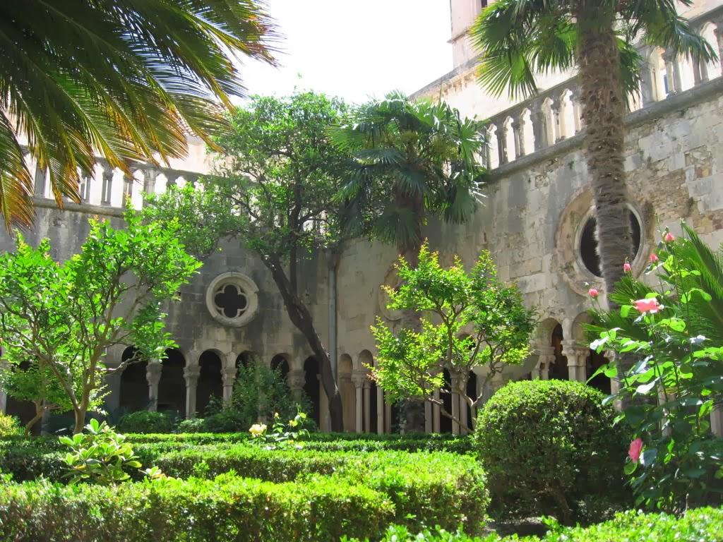 Det franciskanske kloster i Dubrovnik, Kroatien