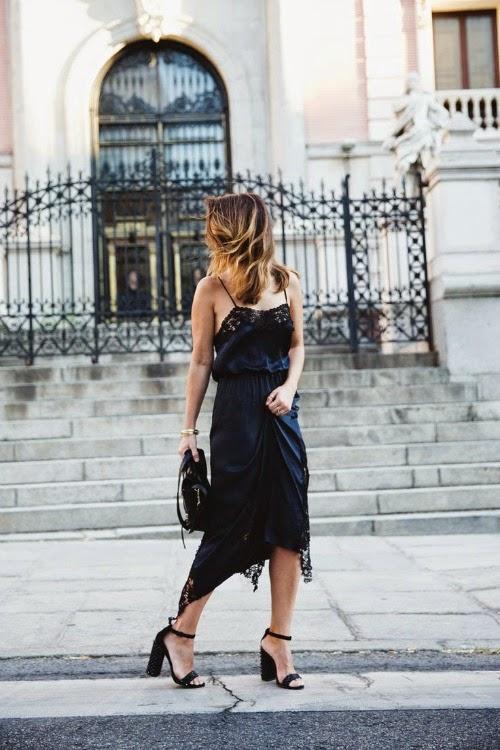 blue lingerie dress
