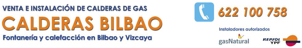 CALDERAS EN BILBAO - 622 100 758 - VENTA, INSTALACIÓN Y REPARACIÓN