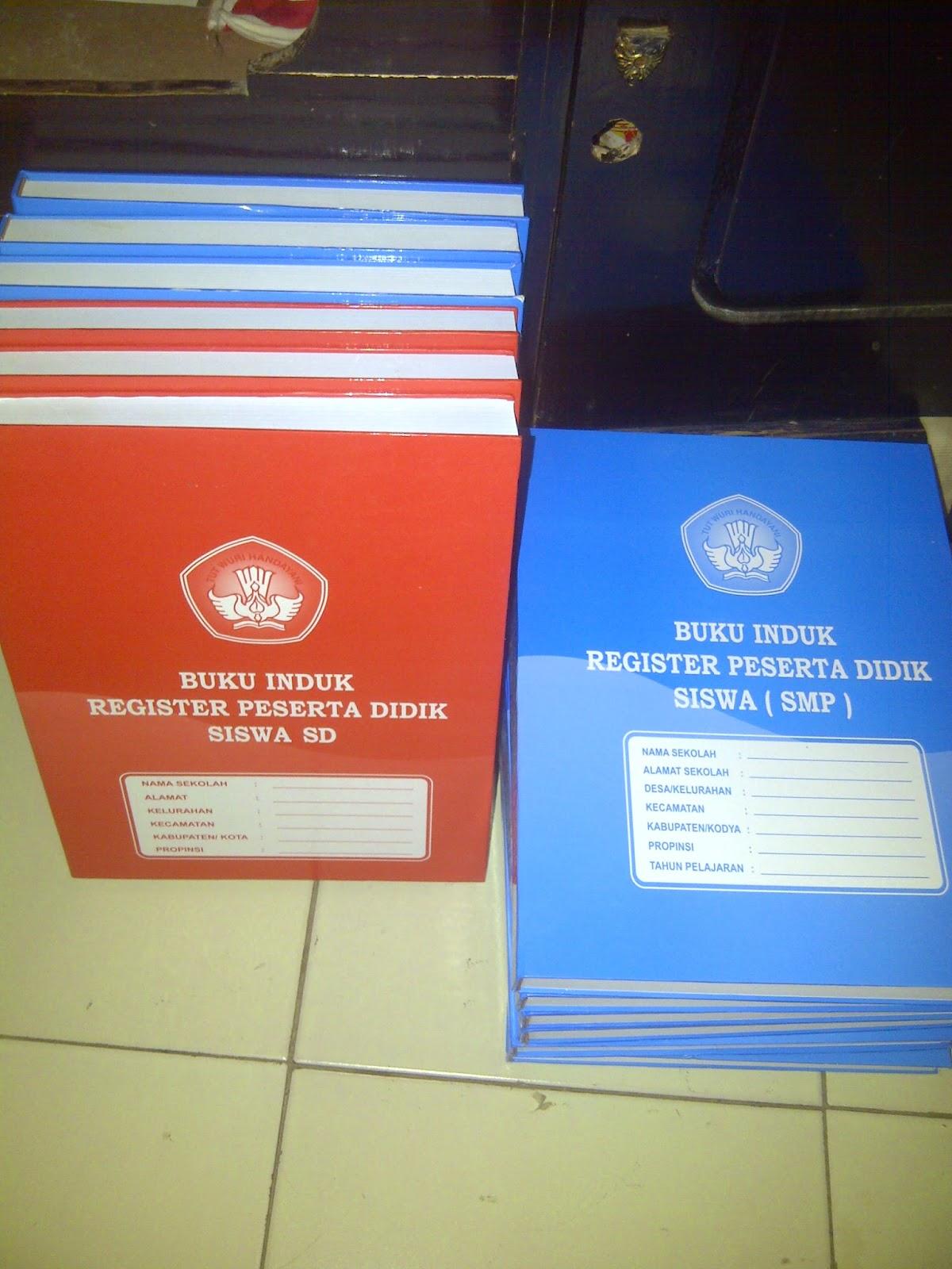 Jual Buku Induk, Buku Administrasi Sekolah, Administrasi kepala Sekolah, RPP Kurikulum KTSP & 2013 Untuk SD/MI/SMP/MTs/SMA/SMK Lengkap. Juga Tersedia Dalam Bentuk CD