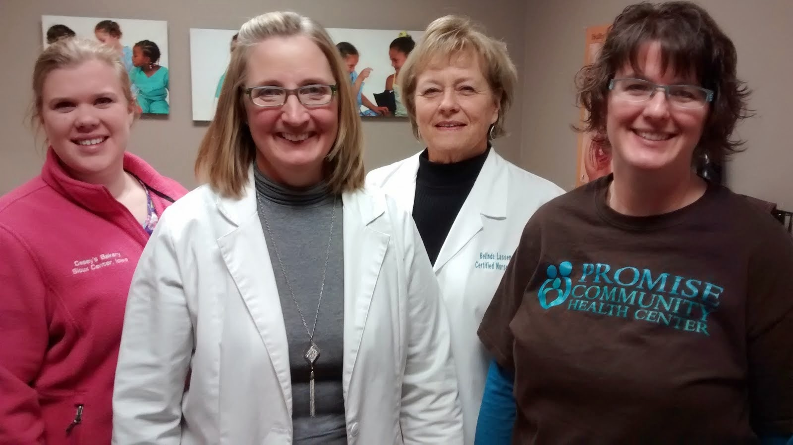 Promise Community Health Center prenatal care team