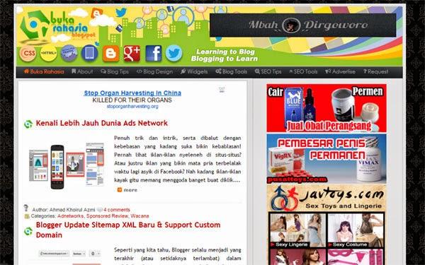 Situs Blogger Populer di Indonesia Terbaru 2015