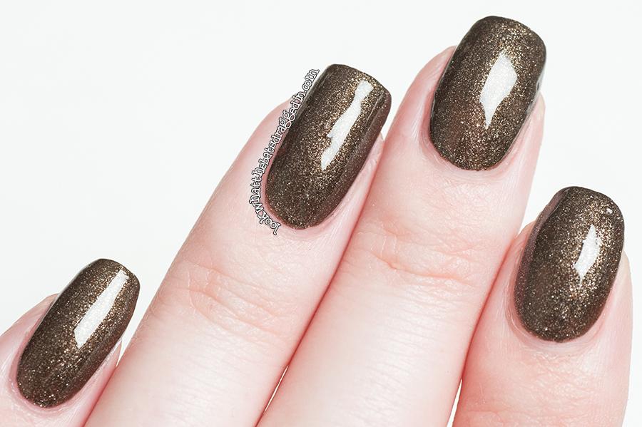 Illamasqua Creators collection Fusion nail polish swatch manicure