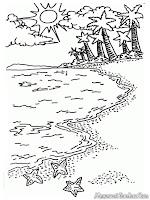 Menikmati Keindahan Pemandangan Pantai