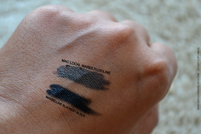 MAC Styleseeker Makeup Collection Fluidline Local Ware Indian Beauty Blog Reviews Swatches FOTD EOTD Looks Ingredients