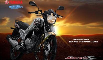 Brosur Harga Kredit Yamaha Scorpio Z Limited Edition Terbaru 2014 Rp