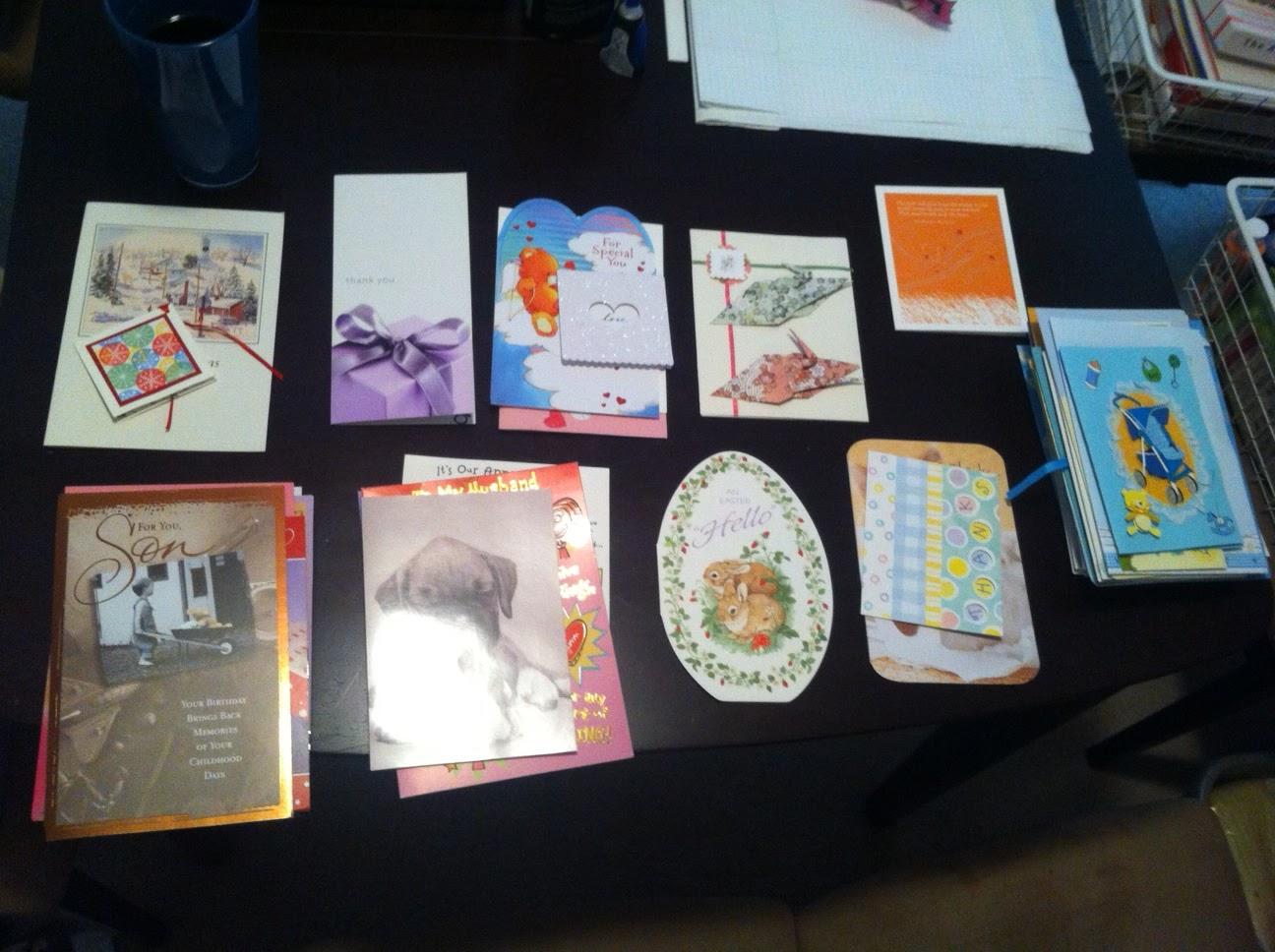 Diy greeting card keepsake album endless greeting cards m4hsunfo