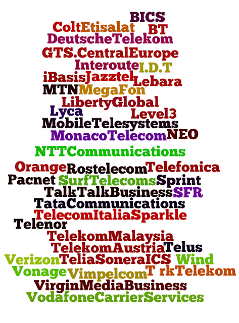 Carriers World 2013 Participants